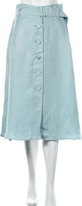 Niebieska spódnica Alba Moda midi