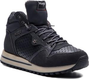 Sneakersy Wrangler sznurowane w sportowym stylu