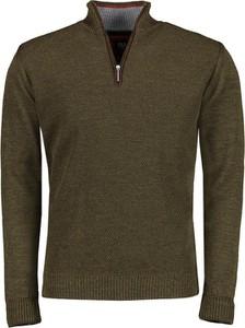 Zielony sweter Lavard z wełny