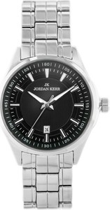 ZEGAREK MĘSKI JORDAN KERR - 53401 (zj115b) - Srebrny