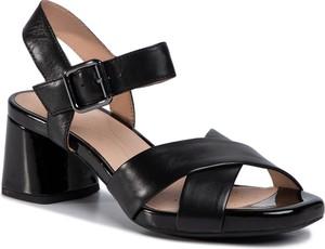 Czarne sandały Geox