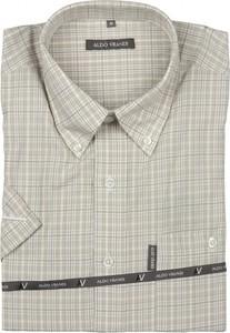 Koszula Aldo Vrandi z bawełny z krótkim rękawem