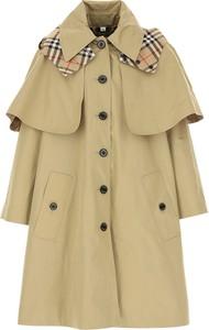 Płaszcz dziecięcy Burberry z bawełny