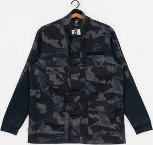 Kurtka Nike z bawełny w militarnym stylu