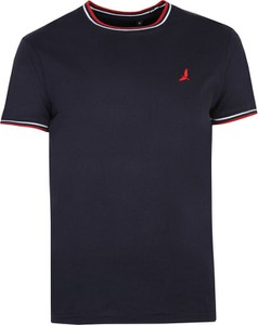 Granatowy t-shirt Top Secret