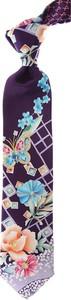 Krawat Leonard w stylu boho z jedwabiu