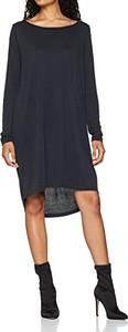 Sukienka amazon.de z okrągłym dekoltem w stylu casual z długim rękawem