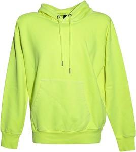 Zielona bluza Diesel Clothes z bawełny w stylu casual