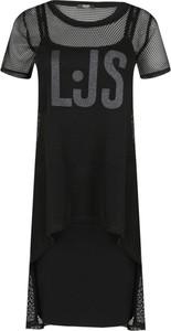 Sukienka Liu-Jo w sportowym stylu z krótkim rękawem