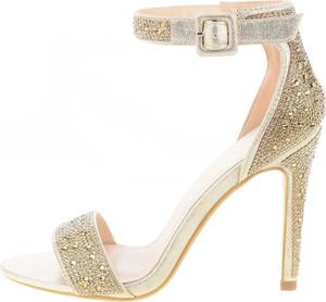 Sandały Prima Moda z klamrami w stylu klasycznym ze skóry