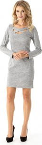 Sukienka Ella Dora z długim rękawem