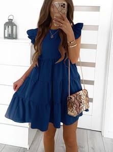 Sukienka Pakuten bez rękawów w stylu casual mini