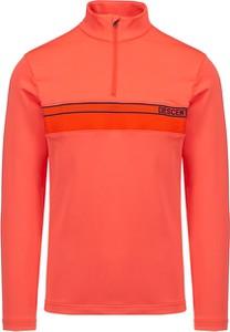 Pomarańczowy sweter Descente