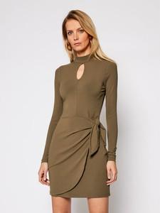 Zielona sukienka Guess w stylu casual