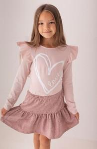 Bluzka dziecięca Myprincess / Lily Grey z długim rękawem