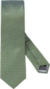 Zielony krawat Tom Rusborg z jedwabiu