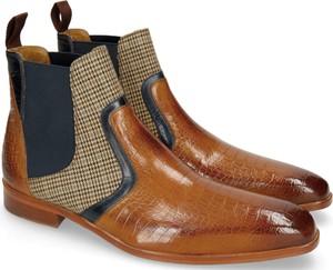 Buty zimowe Melvin & Hamilton sznurowane ze skóry