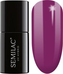 Semilac, lakier hybrydowy 012 pink cherry