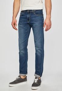 Granatowe jeansy Pepe Jeans z bawełny