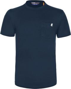 T-shirt K-Way z krótkim rękawem w stylu casual