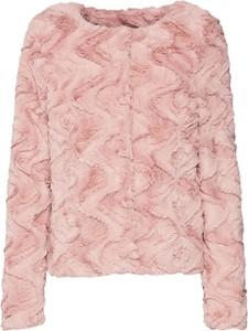 Różowy płaszcz Vero Moda