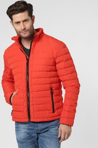 Pomarańczowa kurtka Nils Sundström w stylu casual