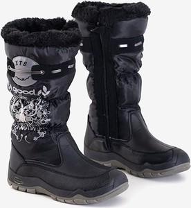 Czarne śniegowce Royalfashion.pl