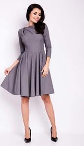 Fioletowa sukienka Infinite You z okrągłym dekoltem
