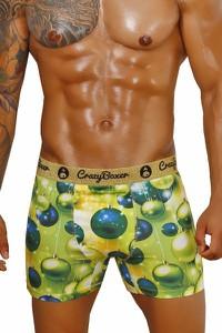 Zielone majtki crazy boxer