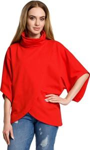 Bluzka MOE w stylu casual z bawełny