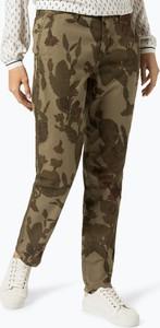 Zielone spodnie MAC w militarnym stylu