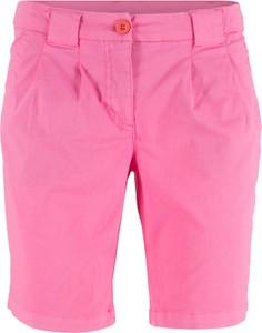 Różowe szorty bonprix bpc bonprix collection