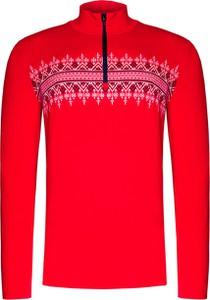 Czerwony sweter Newland