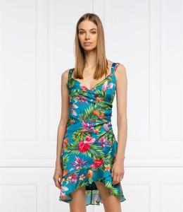 Sukienka Guess mini z dekoltem w kształcie litery v