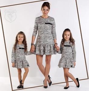 Sukienka dziewczęca Kids By Voga z bawełny