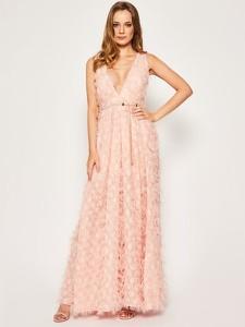 Sukienka Babylon maxi z dekoltem w kształcie litery v
