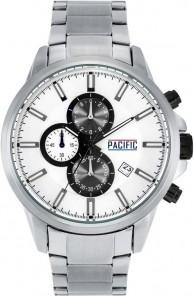 ZEGAREK MĘSKI PACIFIC X0031 - CHRONOGRAF Srebrny