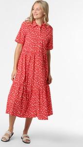Sukienka Marie Lund z bawełny w stylu casual z krótkim rękawem