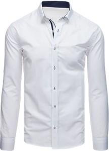 Koszula Dstreet z bawełny z kołnierzykiem button down z długim rękawem