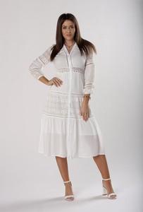 Sukienka Ptakmoda.com szmizjerka midi
