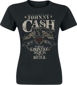 Czarny t-shirt Johnny Cash