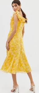 Fioletowa sukienka Keepsake midi