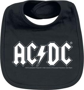 Emp AC/DC - Logo - Śliniak - czarny