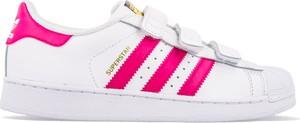 Trampki dziecięce Adidas w paseczki na rzepy