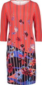 Sukienka Betty Barclay z długim rękawem prosta mini