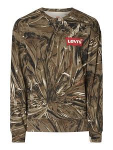 Bluza Levis w młodzieżowym stylu z dresówki