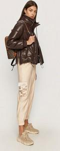 Brązowa kurtka Sportmax Code w stylu casual