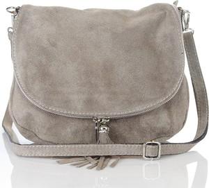 3e5d4e7a44b92 torebki zamszowe listonoszki - stylowo i modnie z Allani