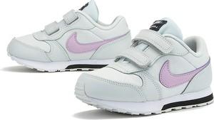 Buty sportowe dziecięce Nike na rzepy ze skóry
