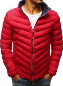 Czerwona kurtka Dstreet w stylu casual